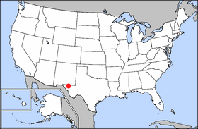 National Register of Historic Places listings in Guadalupe Mountains National Park Wikimedia list article