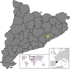 Location of Les Franqueses del Valles.png