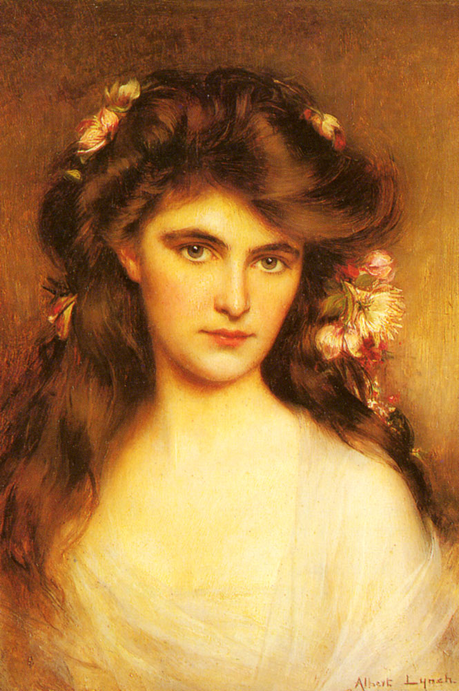 https://upload.wikimedia.org/wikipedia/commons/a/ab/Lynch_Albert_A_Young_Beauty_With_Flowers_In_Her_Hair.jpg