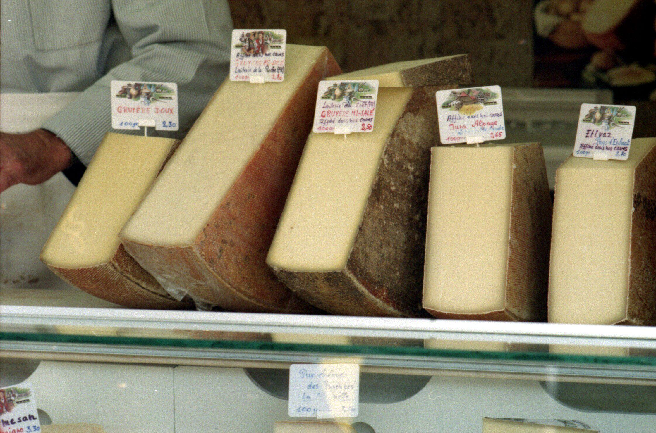 قائمة أنواع الجبن ويكيبيديا