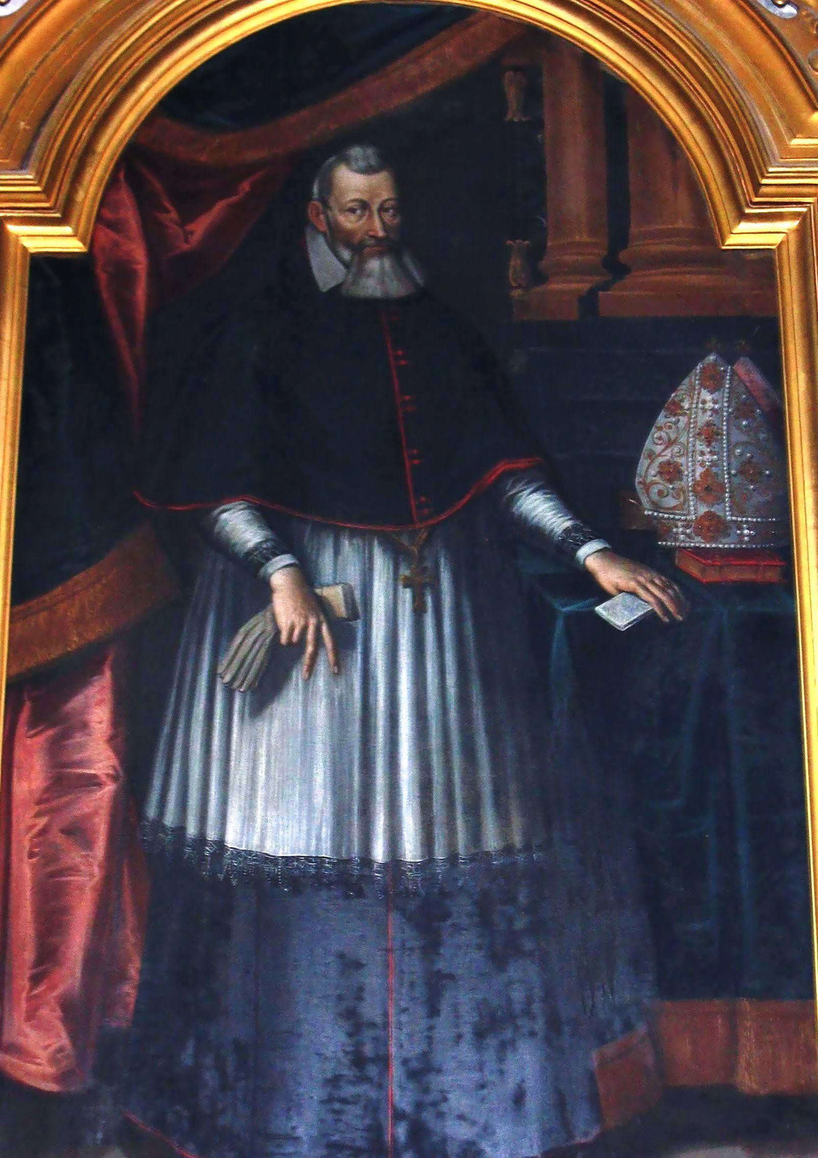 Marcin Szyszkowski of Ostoja 1554-1630, Bishop of Krak w, Prince of Siewierz