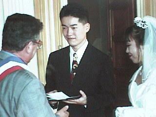 Mariage  la mairie de Fère-en-Tardenois, le 07 Octobre 1995