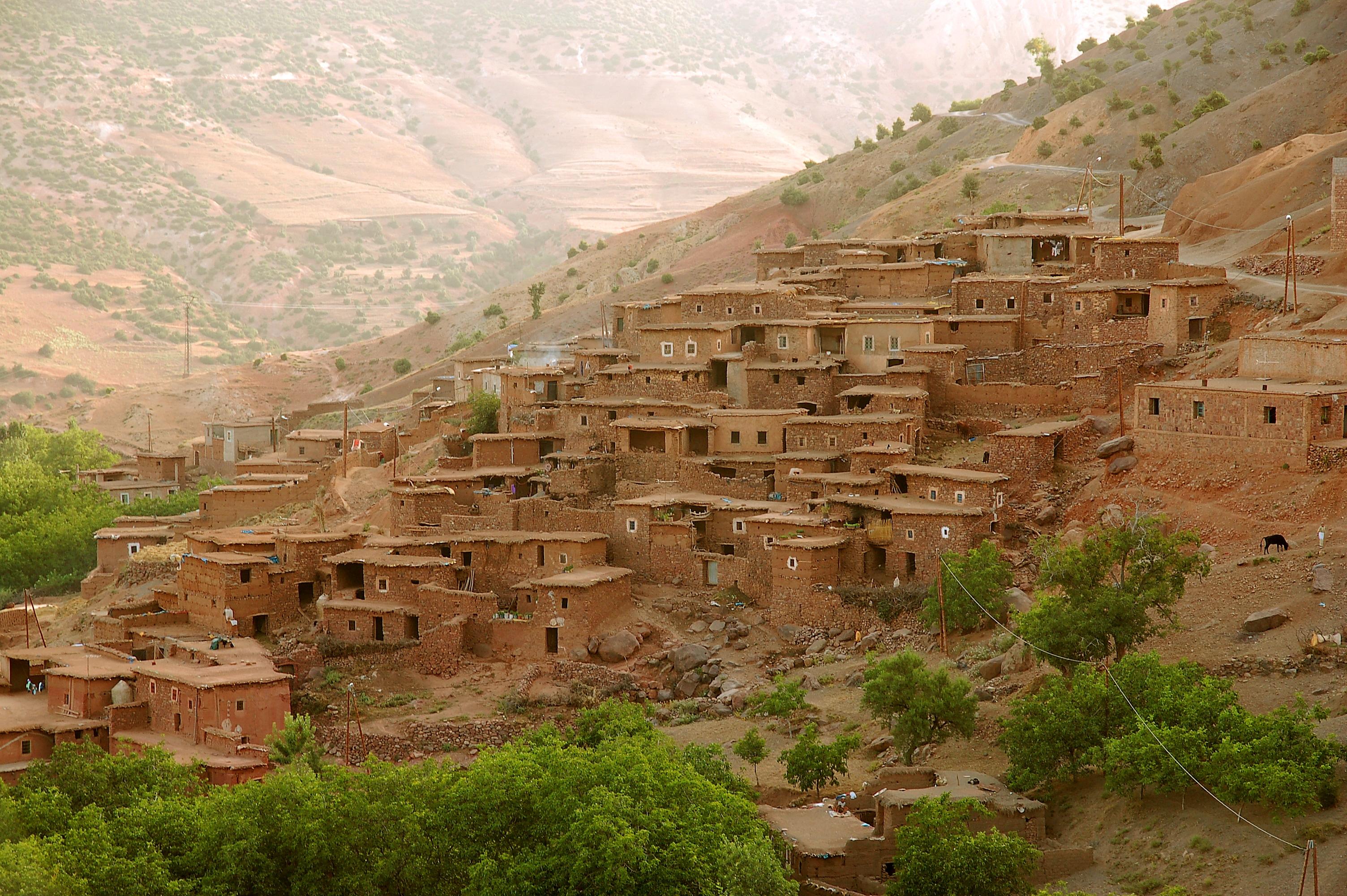 Pueblo valle Asni