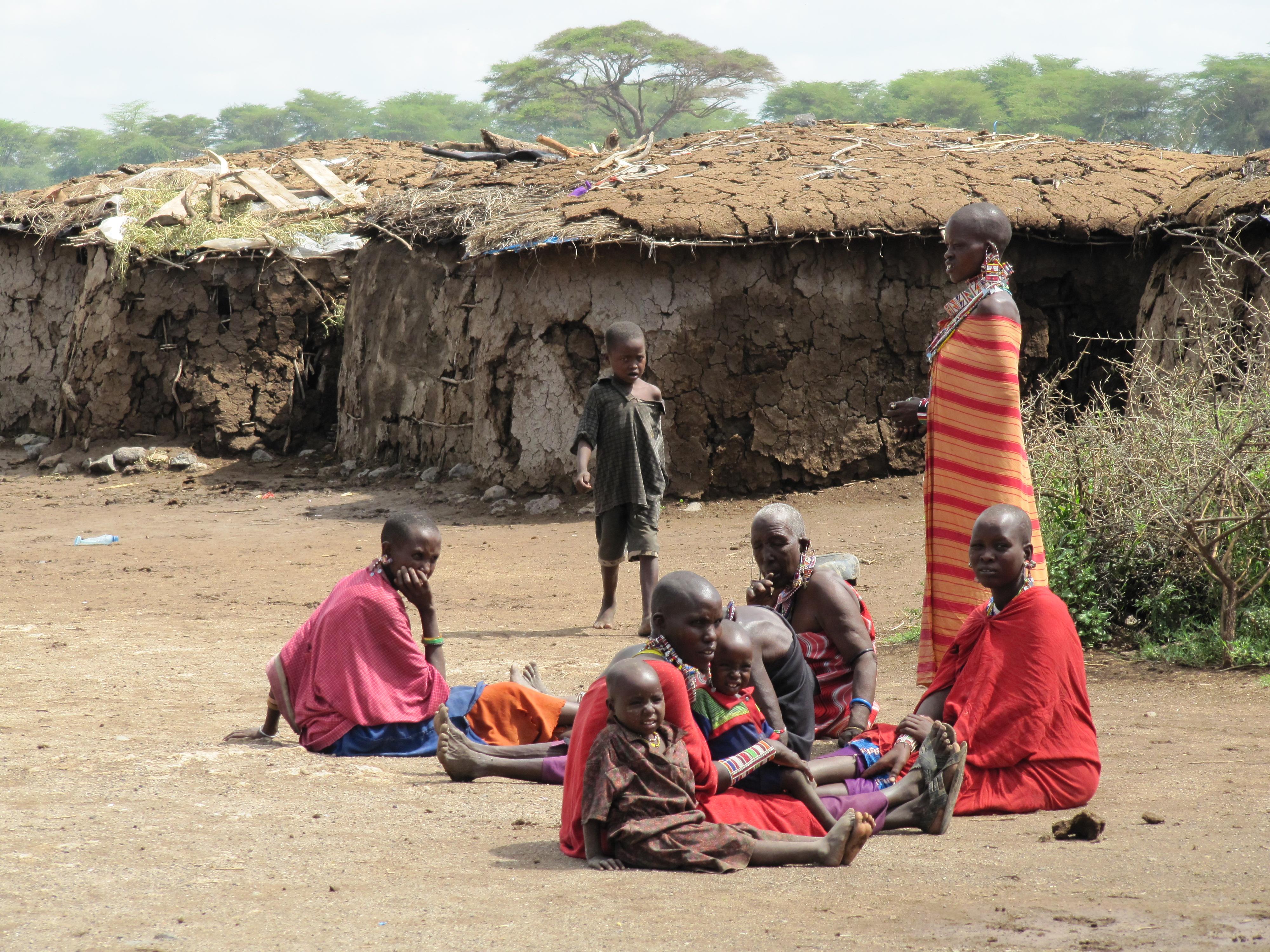 File Masai village  Am...