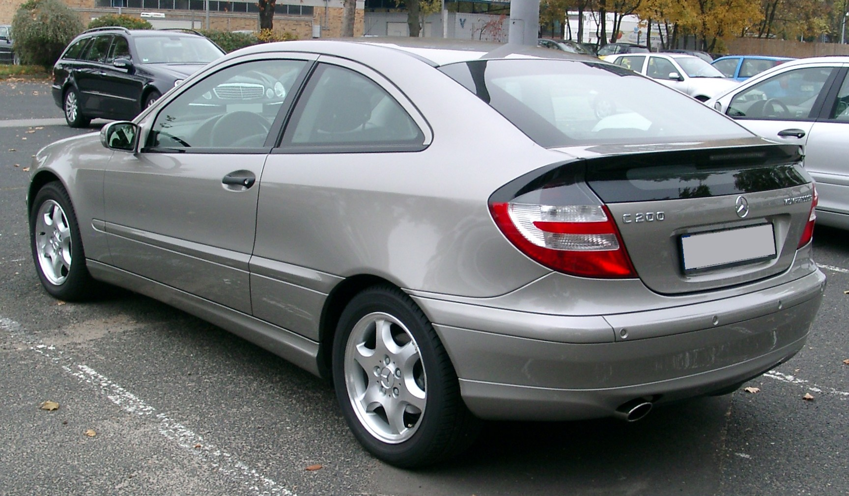 Mercedes C Rear Tire Size