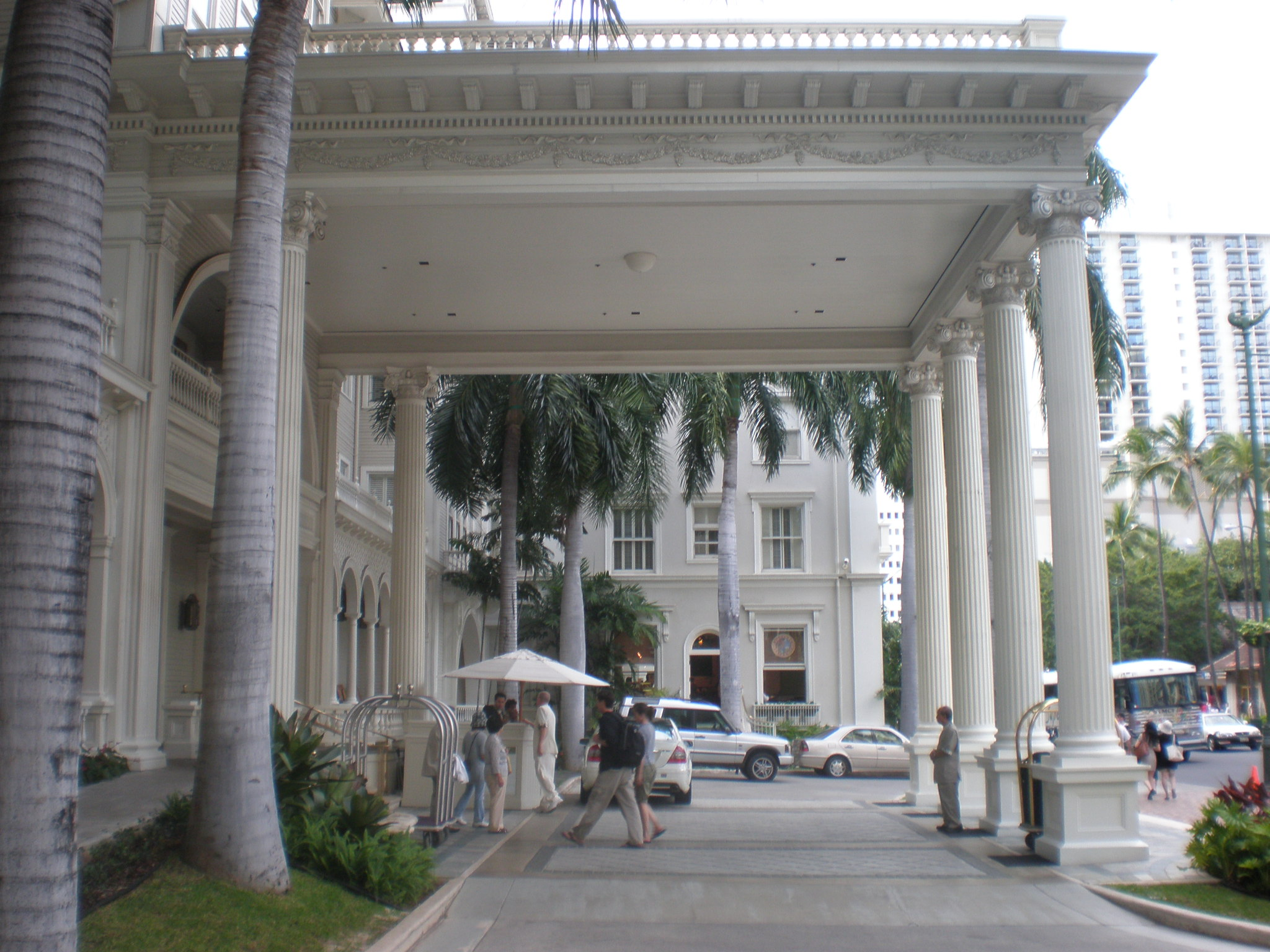 file moana hotel porte cochere jpg wikimedia commons ForWhat Is A Porte Cochere