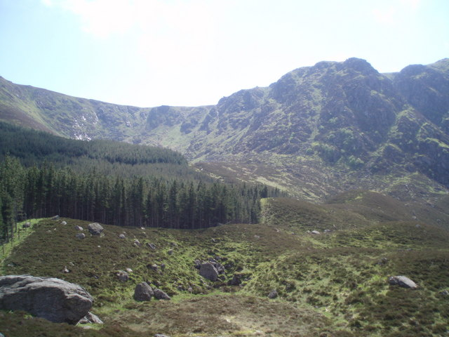 Moraine, Corrie Fee. - geograph.org.uk - 456691