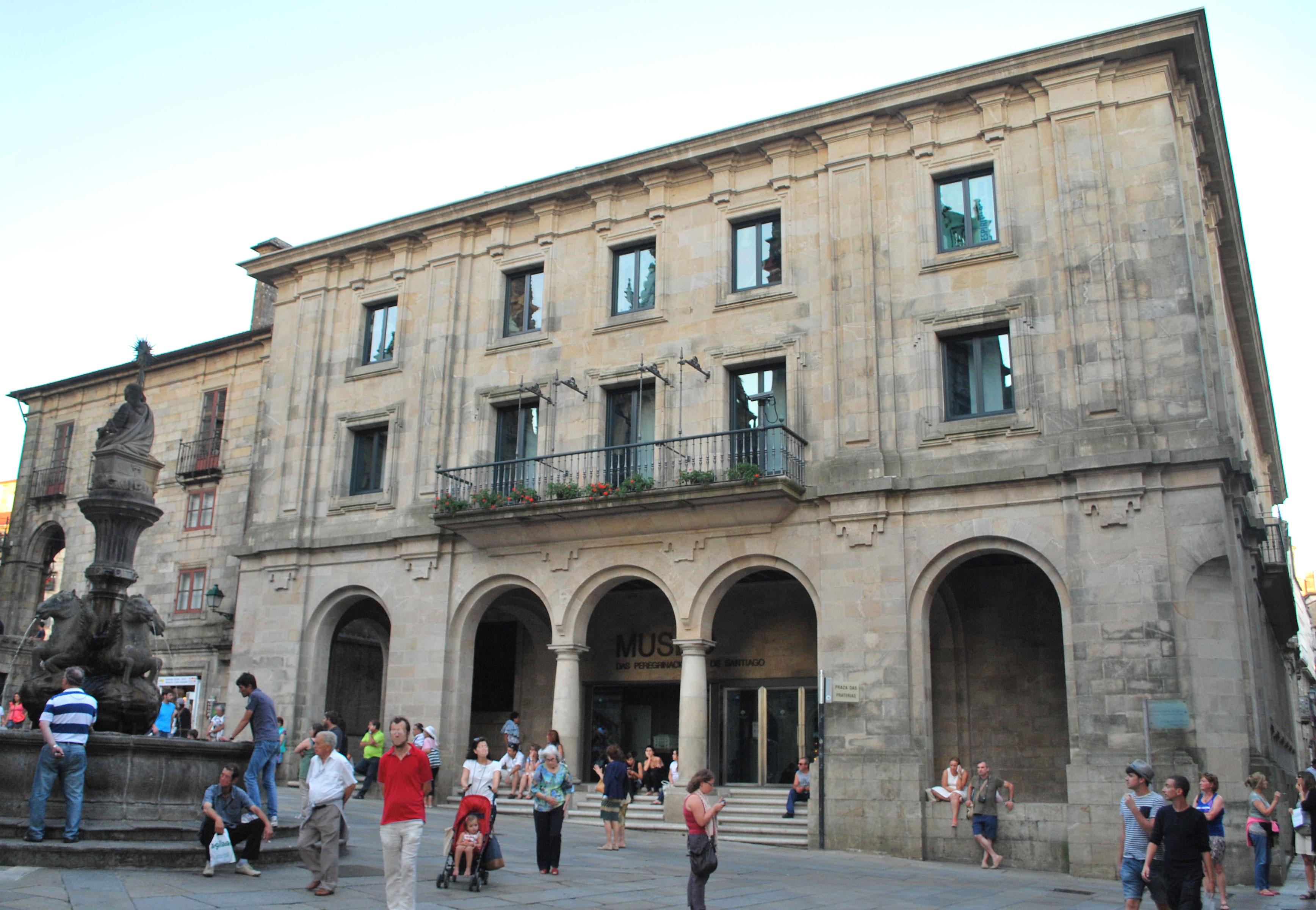 File:Museo das Peregrinacións fachada Santiago de ...