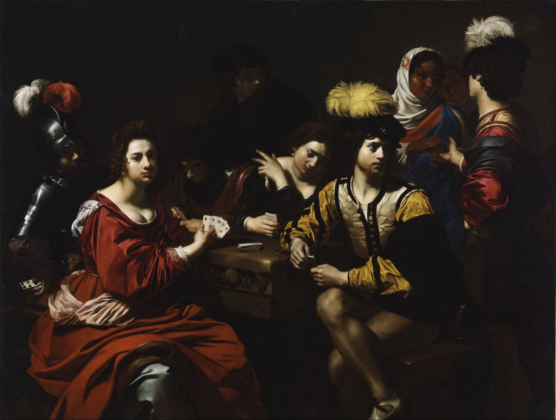 Caravaggio cardsharps