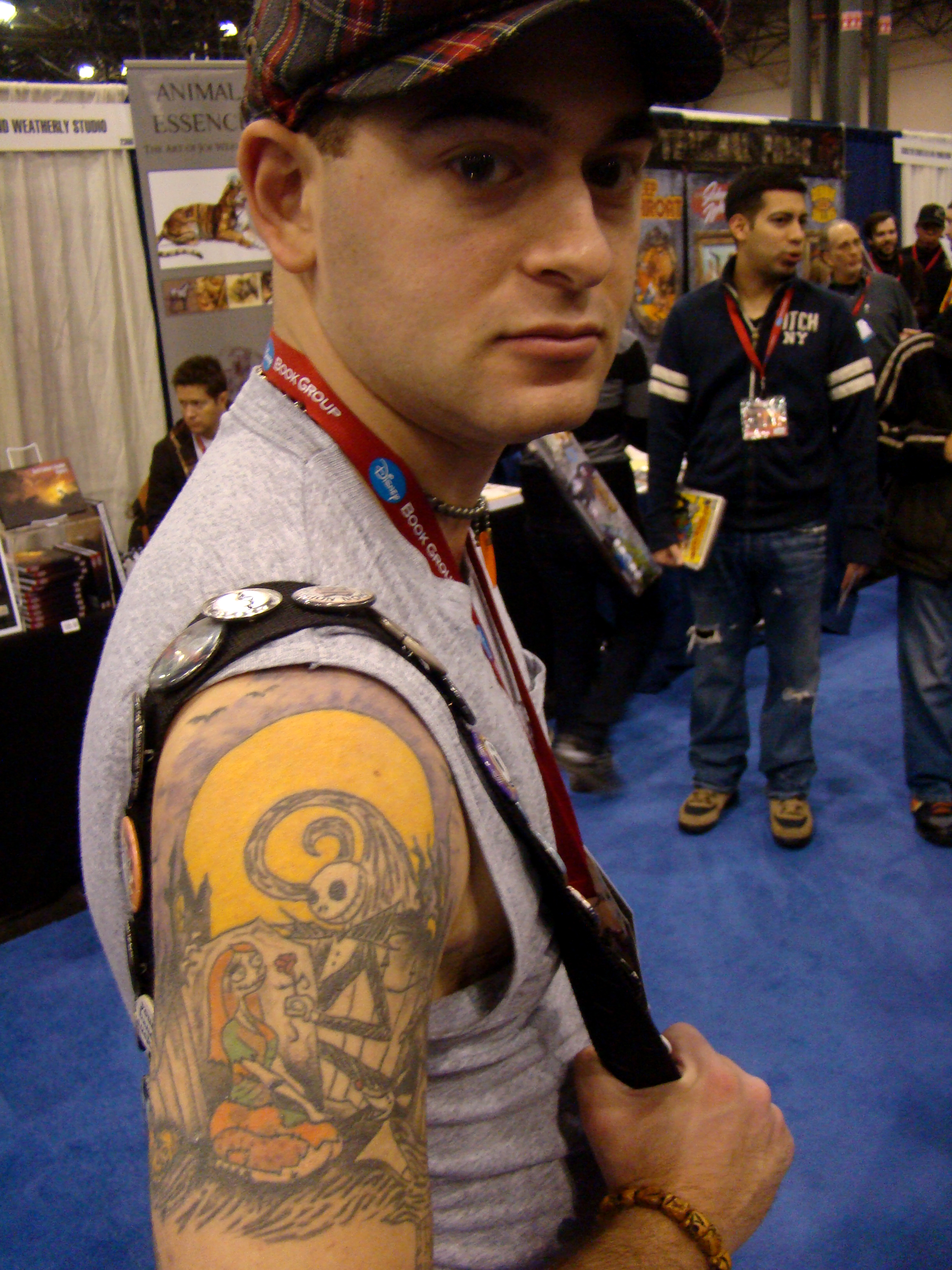 Description Nightmare before christmas tattoo (3261595931).jpg
