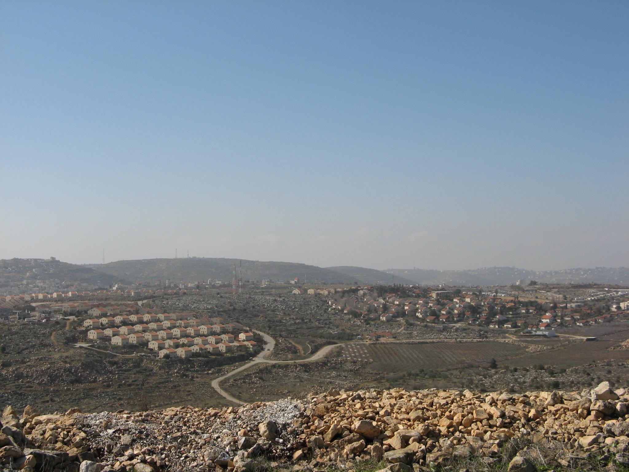 Jüdische Siedlung Ofra, Westbank