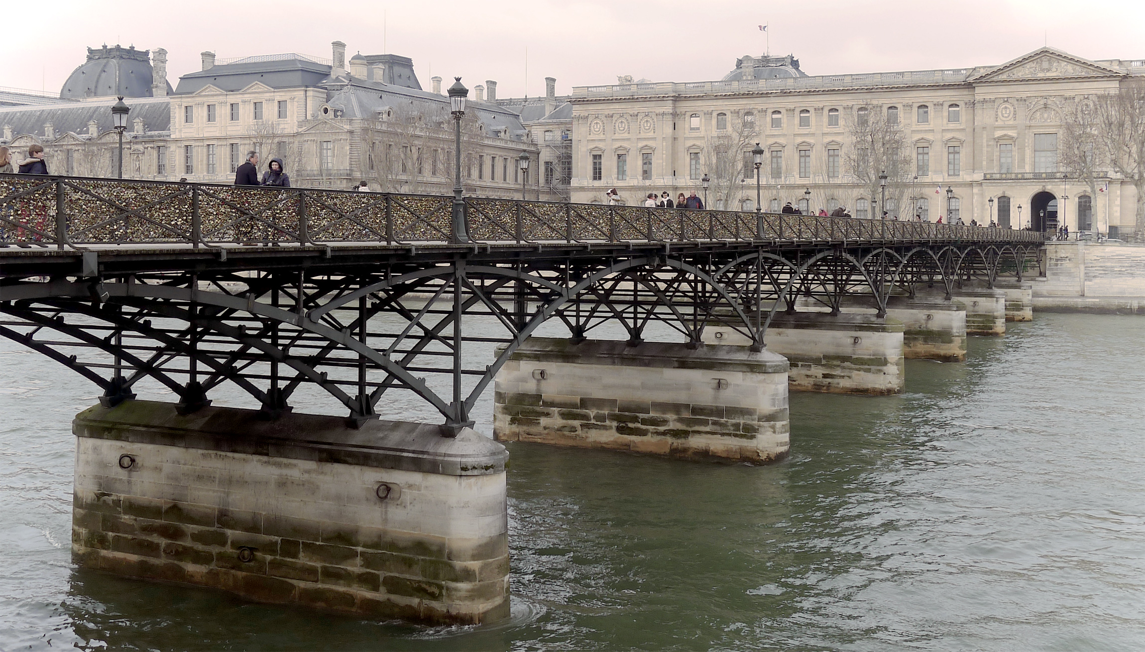 pont des arts wikiwand. Black Bedroom Furniture Sets. Home Design Ideas