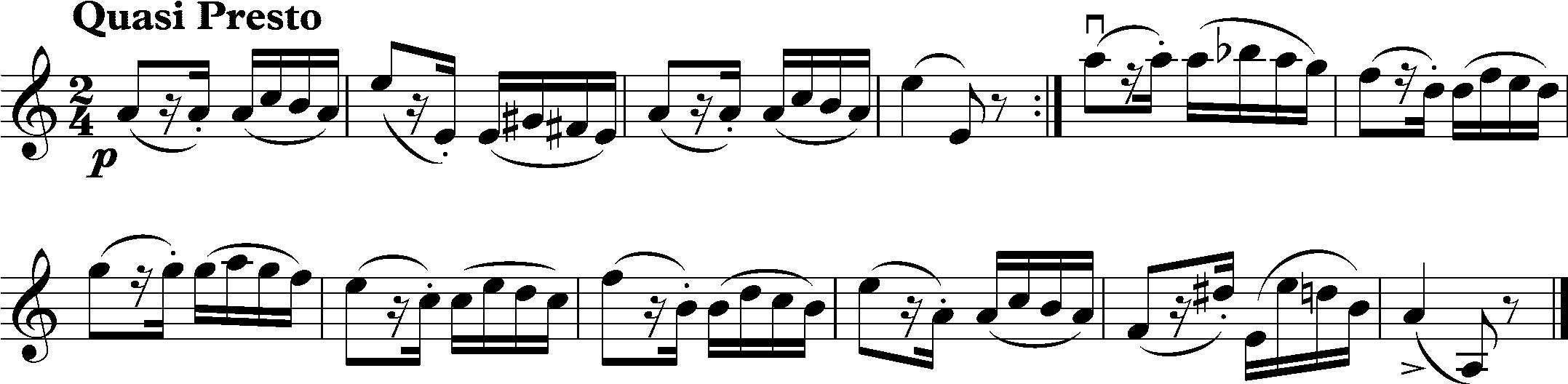 Paganini Caprice No. 24 Theme