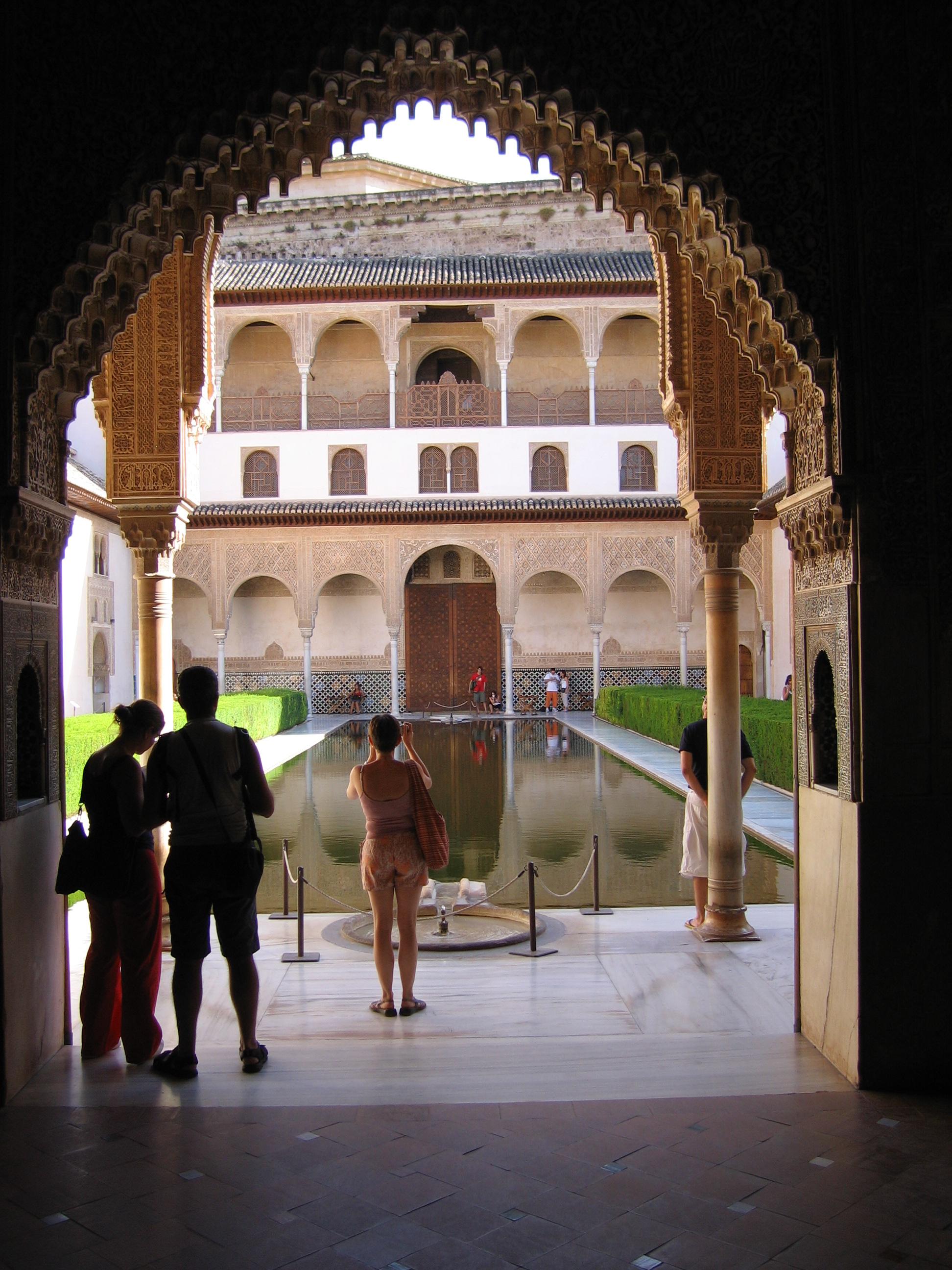 File palacio de wikimedia commons - Banos arabes palacio de comares ...