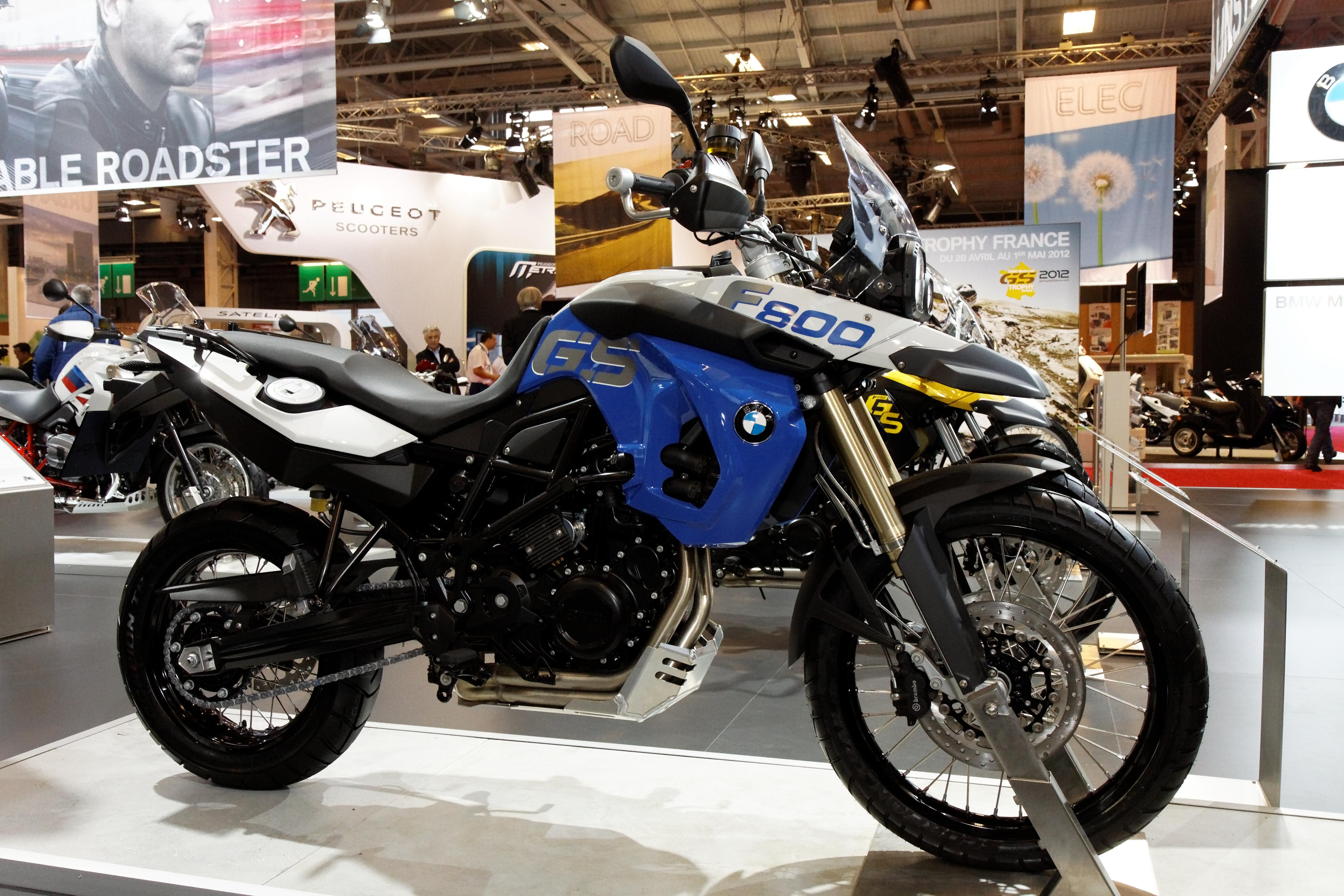 File paris salon de la moto 2011 bmw f 800 gs trophy - Salon de la moto 2013 ...