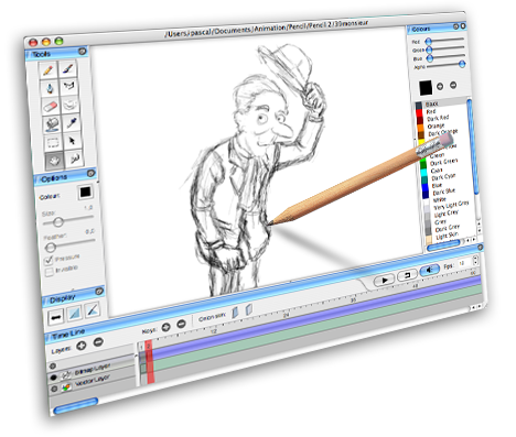 Pencil2d Best painting software
