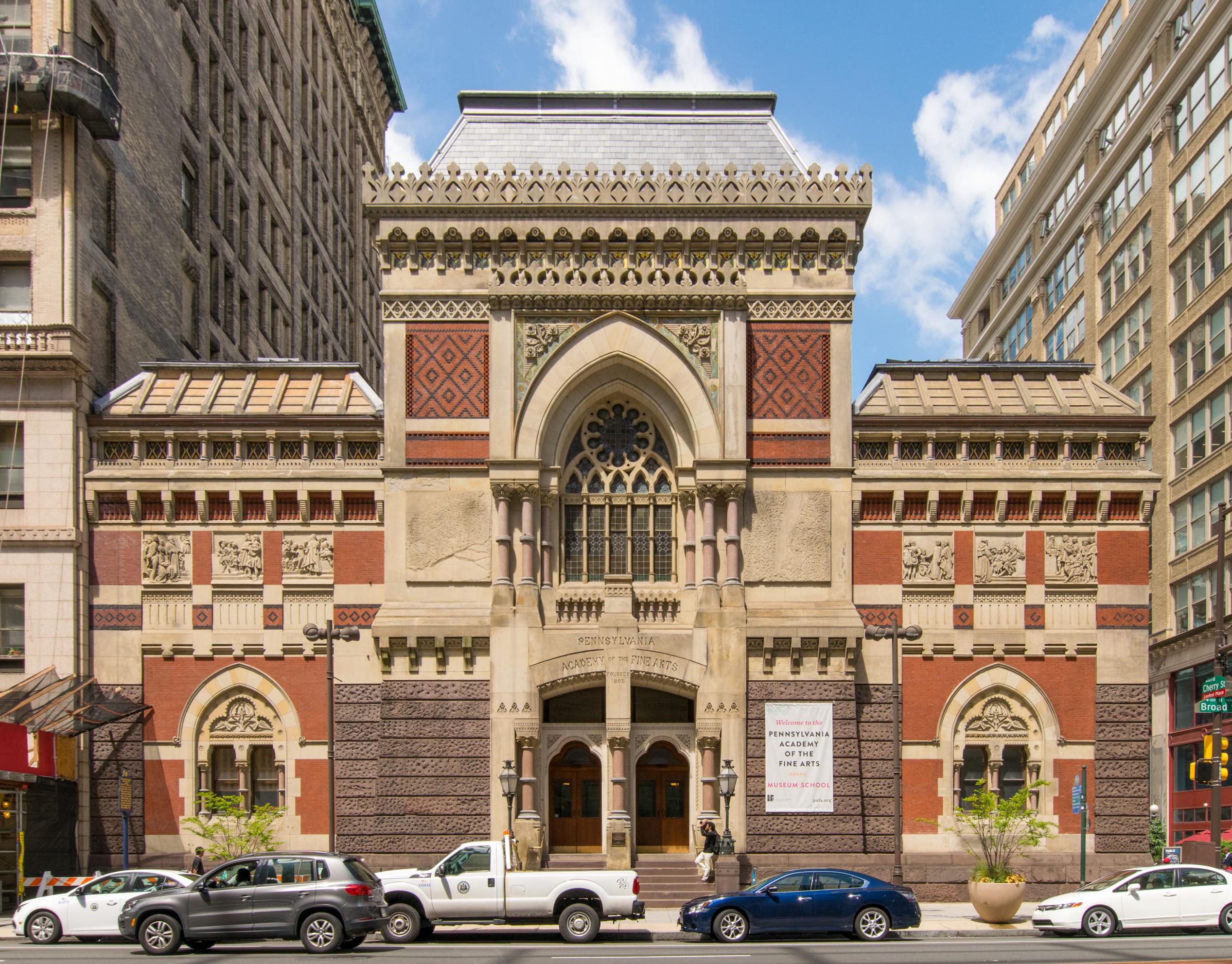 Academy Of The Arts >> Pennsylvania Academy Of The Fine Arts Wikipedia