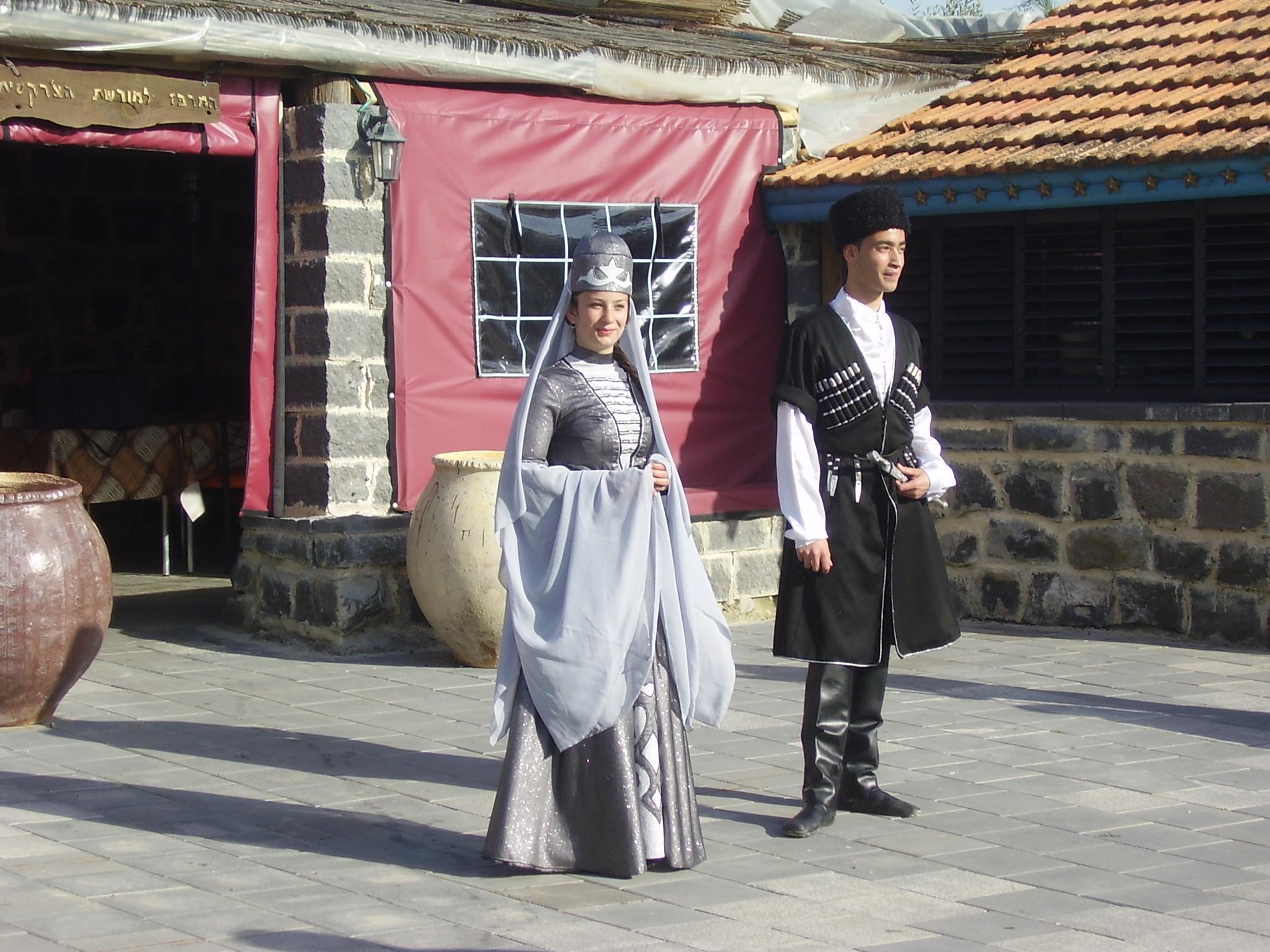 File:PikiWiki Israel 19131 Circassian dancers in Kafr Kama Israel.JPG