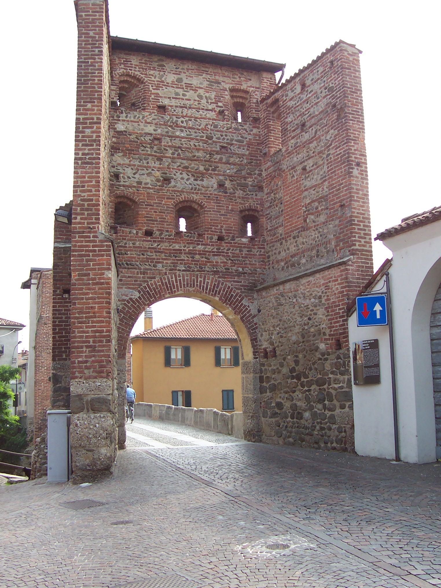 Ponte di San Rocco - Vimercante