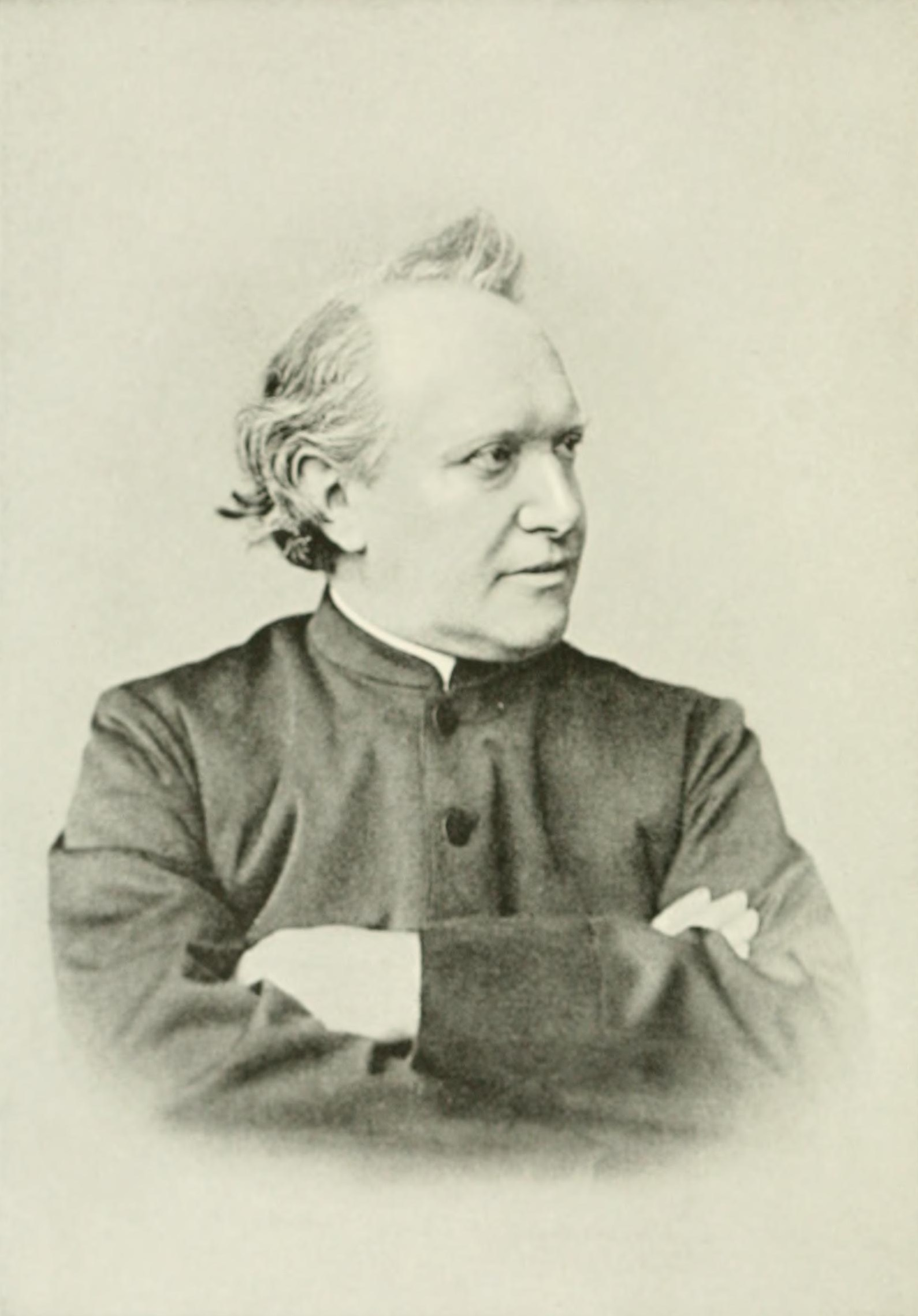 Johannes Janssen in his old age.