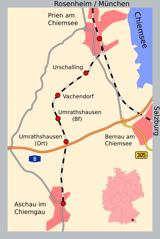 Chiemgaubahn Wikipedia
