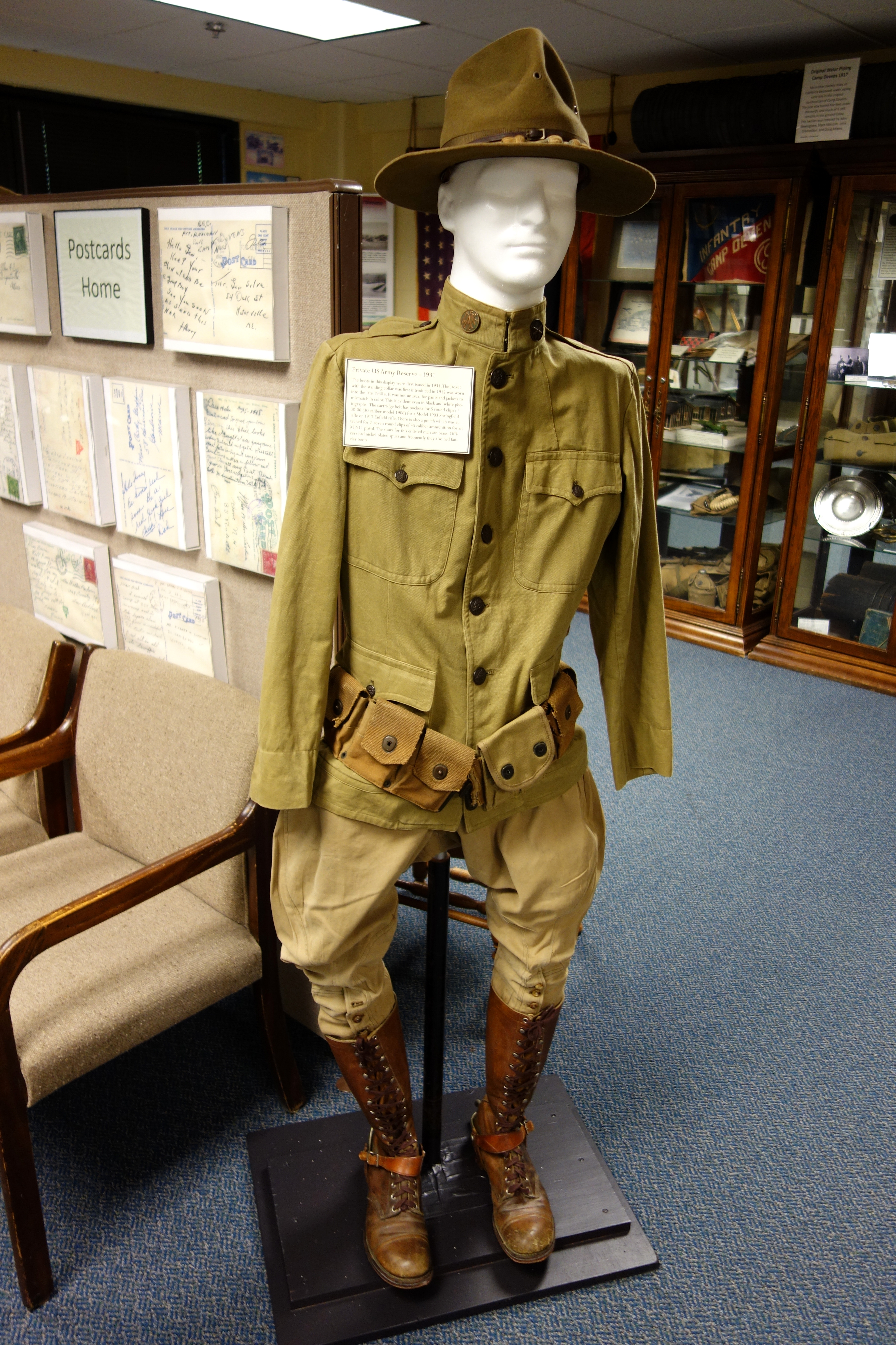 FilePrivate Uniform US Army Reserve  Fort Devens Museum - Private museums in us