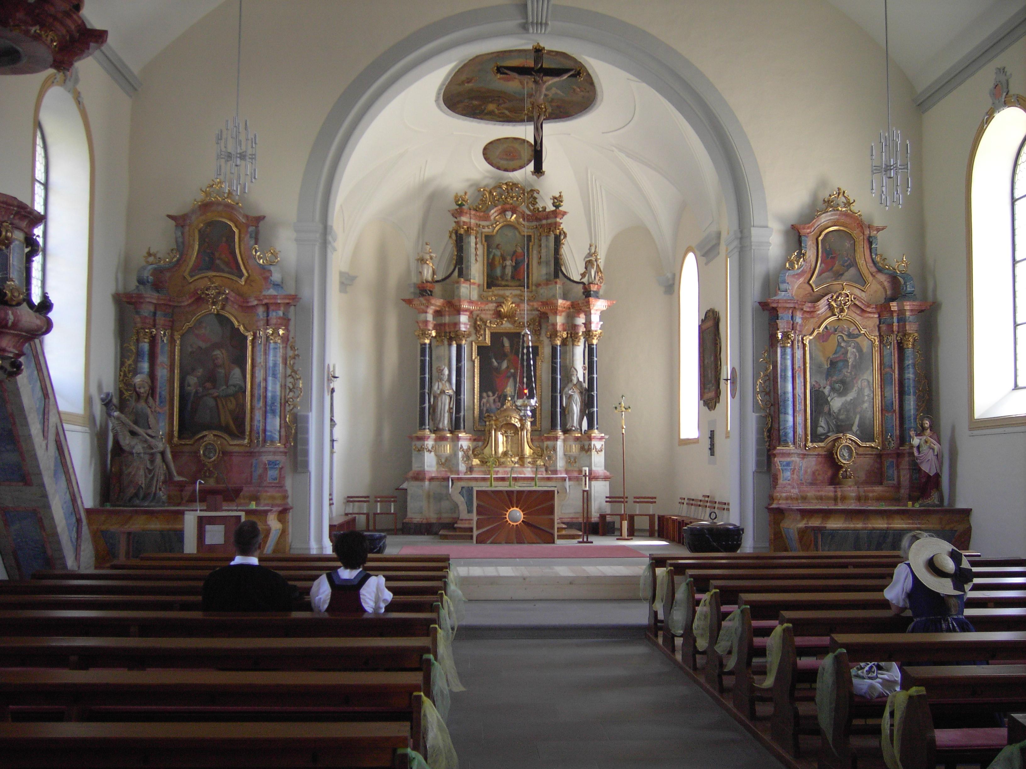 Katholische Kirche Innen