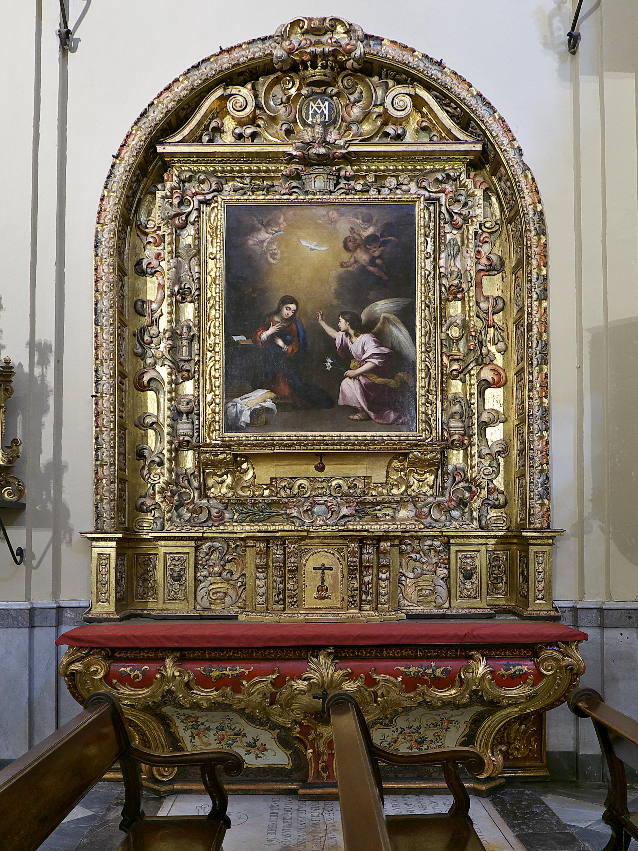 File Retablo De La Anunciacion Iglesia De San Jorge Sevilla Jpg