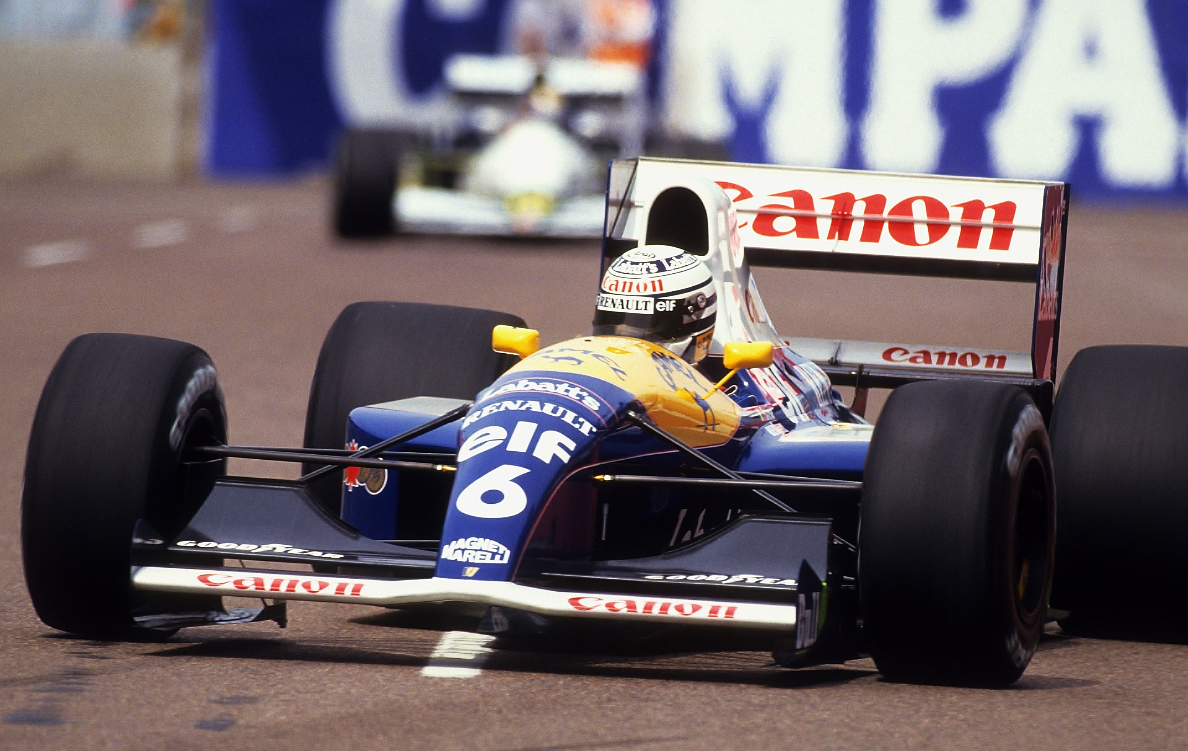 United States Grand Prix >> File:Riccardo Patrese 1991 United States.jpg - Wikimedia Commons