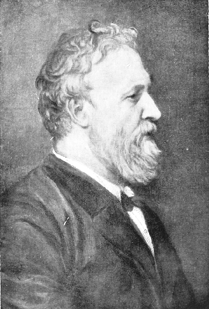 Retrato del poeta Robert Browning