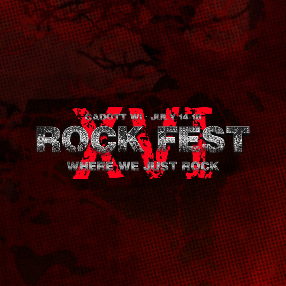Casting at the rockfest