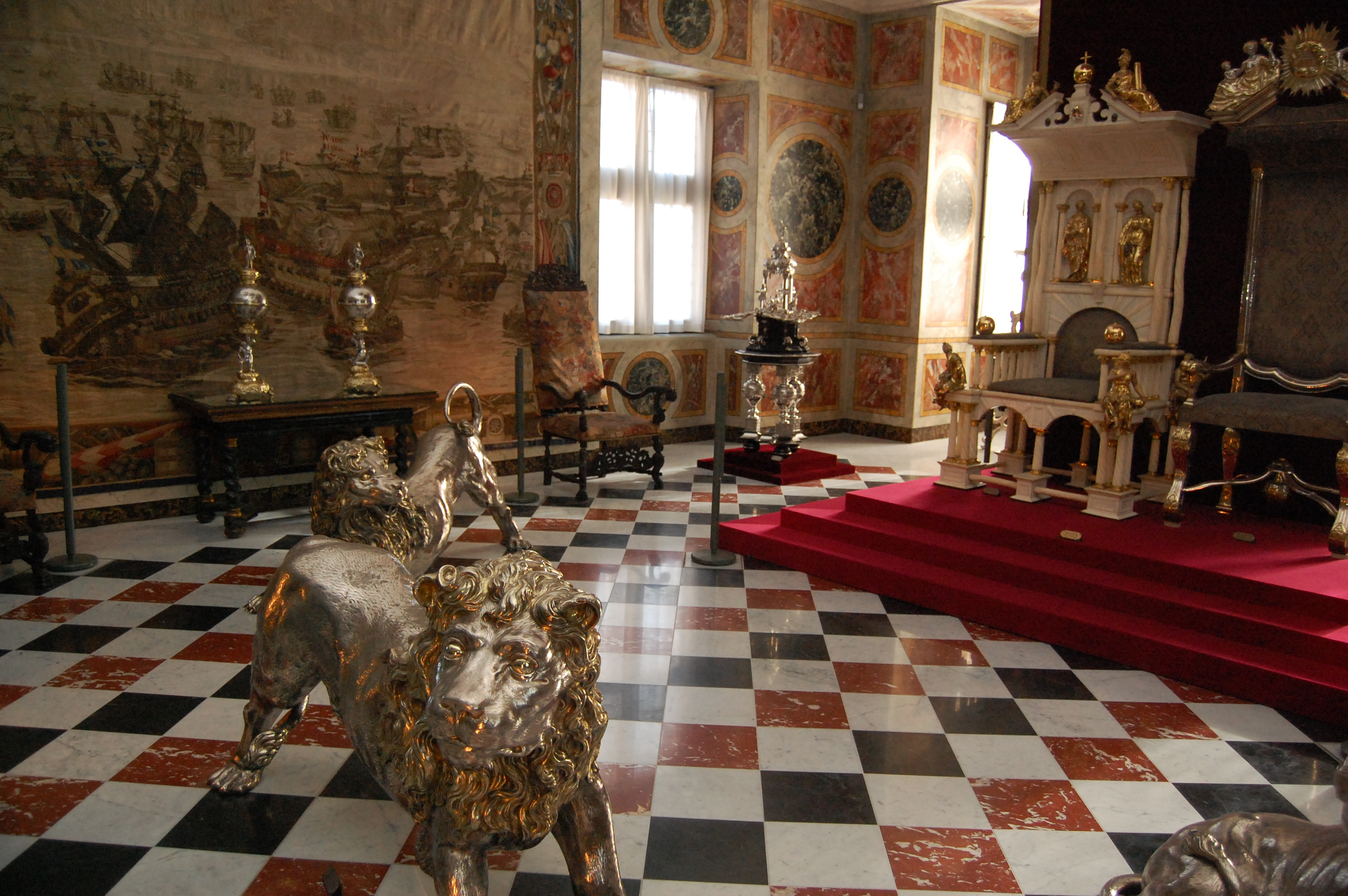 file:rosenborg castle - throne and silver lions1 - wikimedia