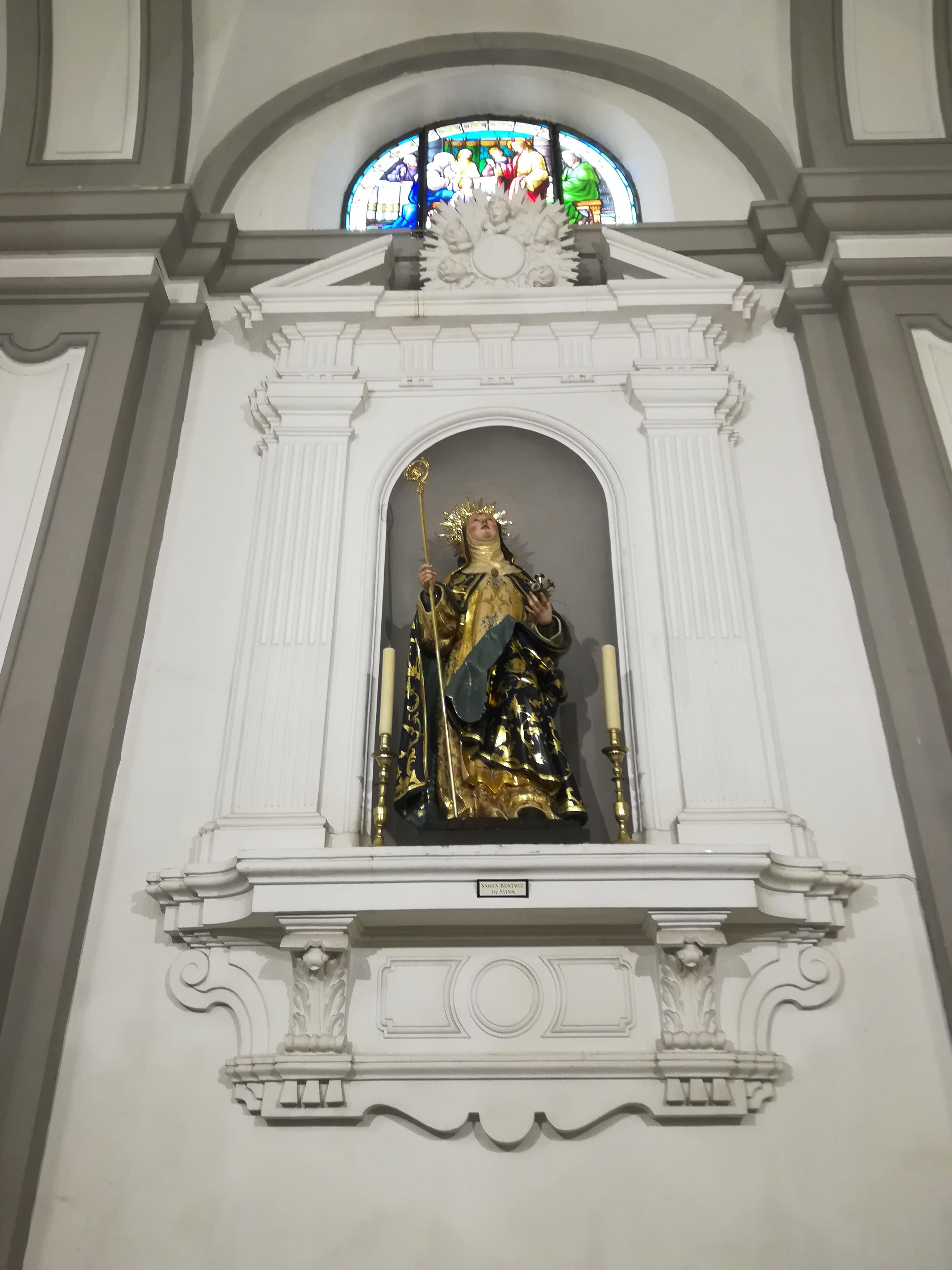 Santa Beatriz de Silva, Catedral de la Asunción i Ceuta i Spania