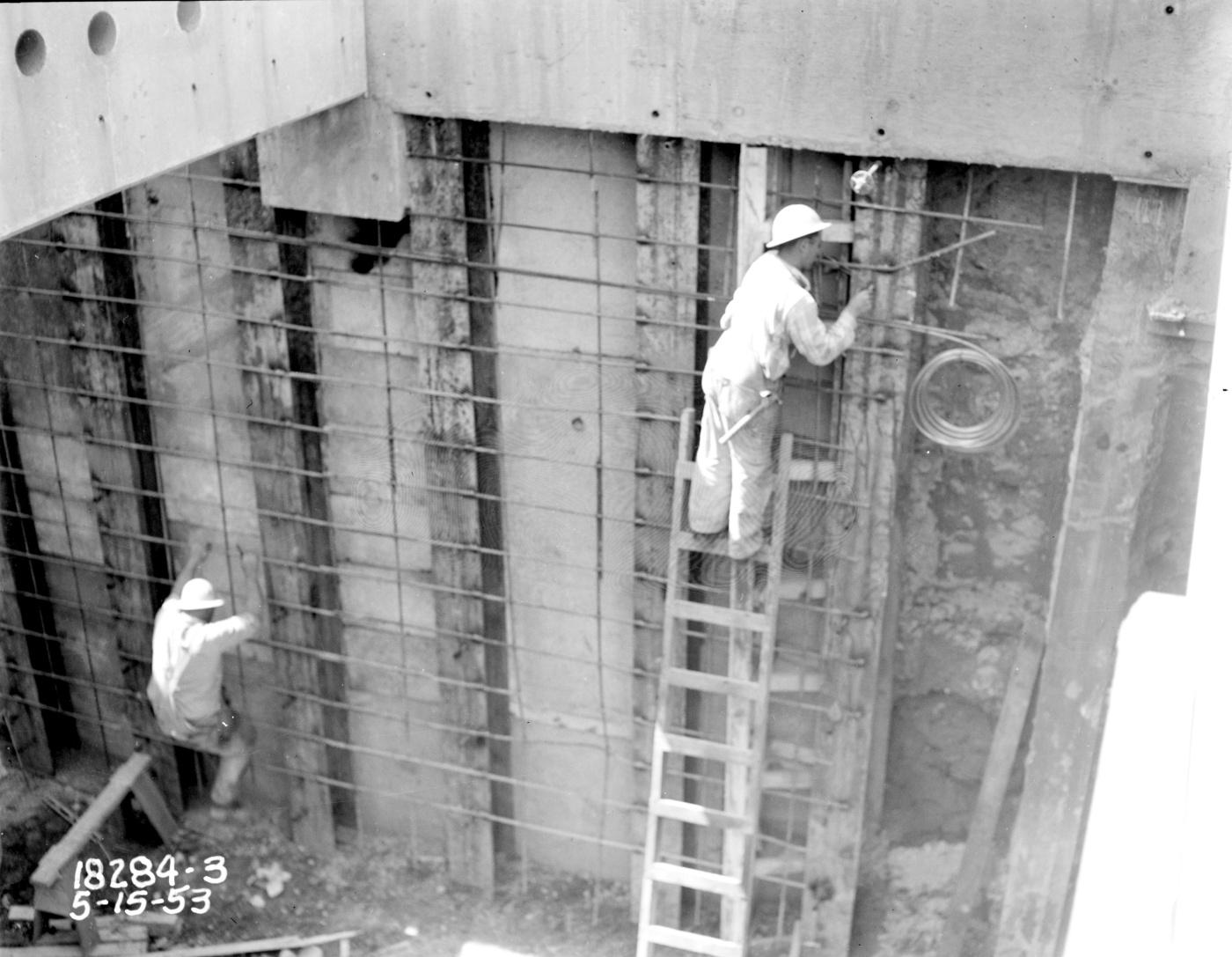 File:Seattle - Battery Street Tunnel under construction - 1953 jpg