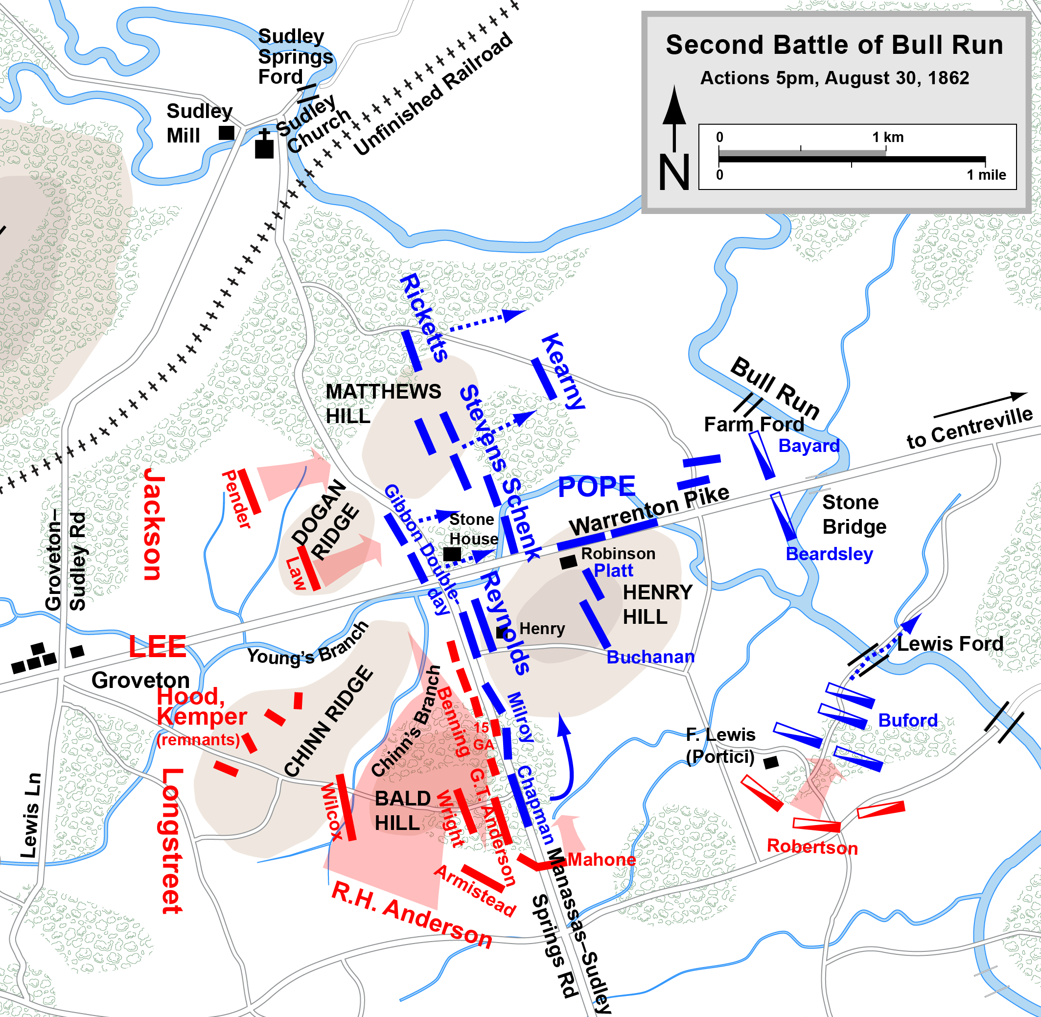 Save Three 1863 Battlefields