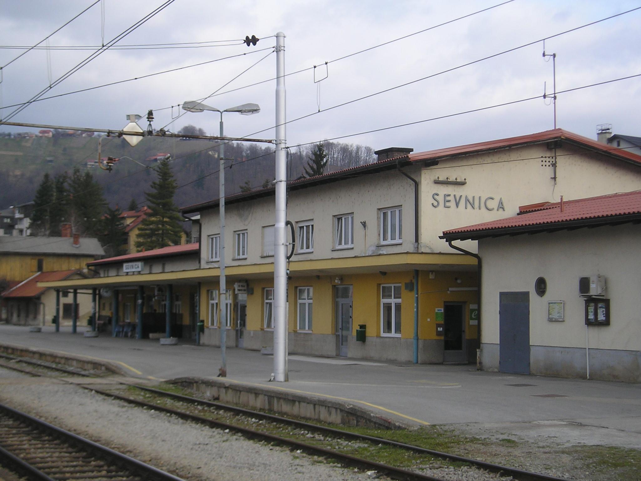 Železniška postaja Sevnica