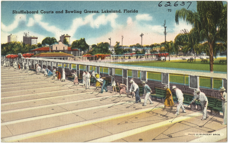 file shuffleboards courts and bowling greens  lakeland