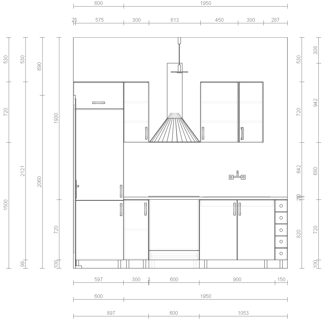 File Small Kitchen S Wall Sketch Png