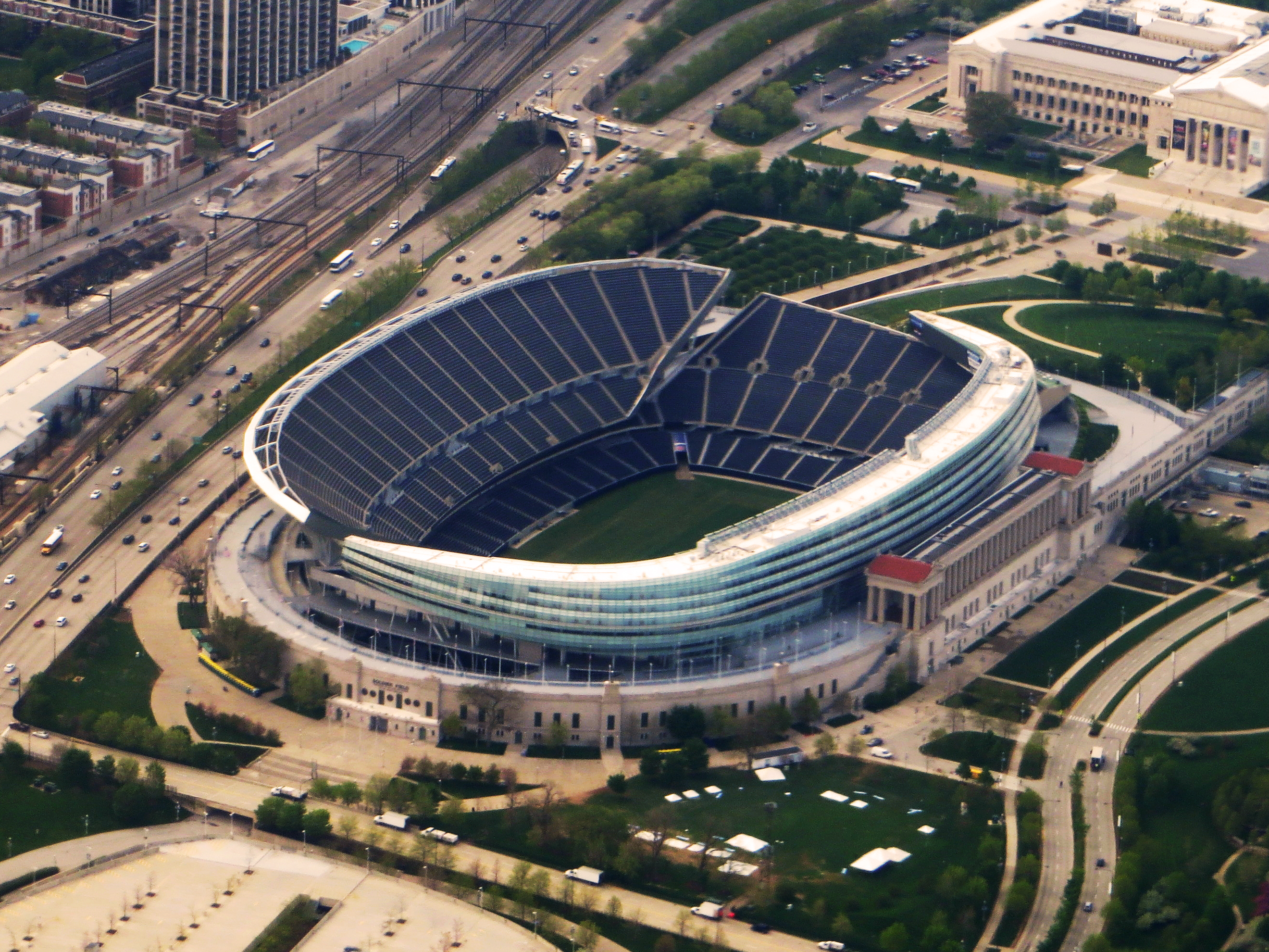file soldier field chicago wikimedia commons. Black Bedroom Furniture Sets. Home Design Ideas