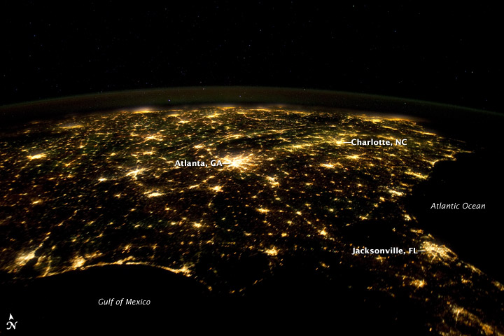 nasa night pictures of virginia - photo #19