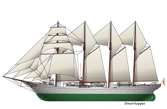 Juan Sebastián Elcano Ferdinand Magellan S Replacement: Spanish Ship Juan Sebastián Elcano