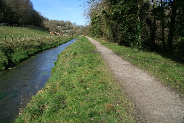 St Austell River and Pentewan Railway trail - geograph.org.uk - 1215303