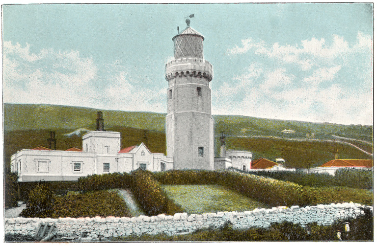 File:St Catherine's Lighthouse c1910 - Project Gutenberg eText 17296.jpg