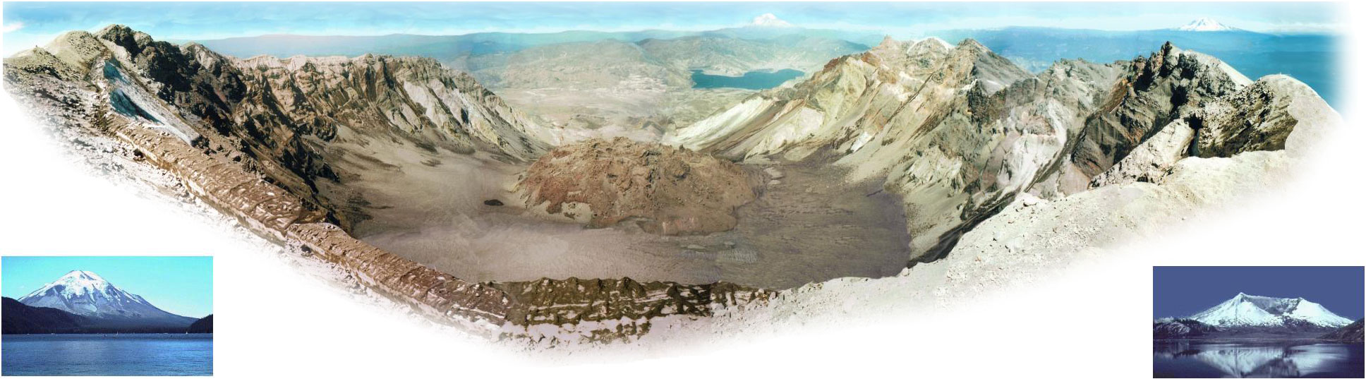 Eruptionof mt saint helens 173 sequence of events sketch photos