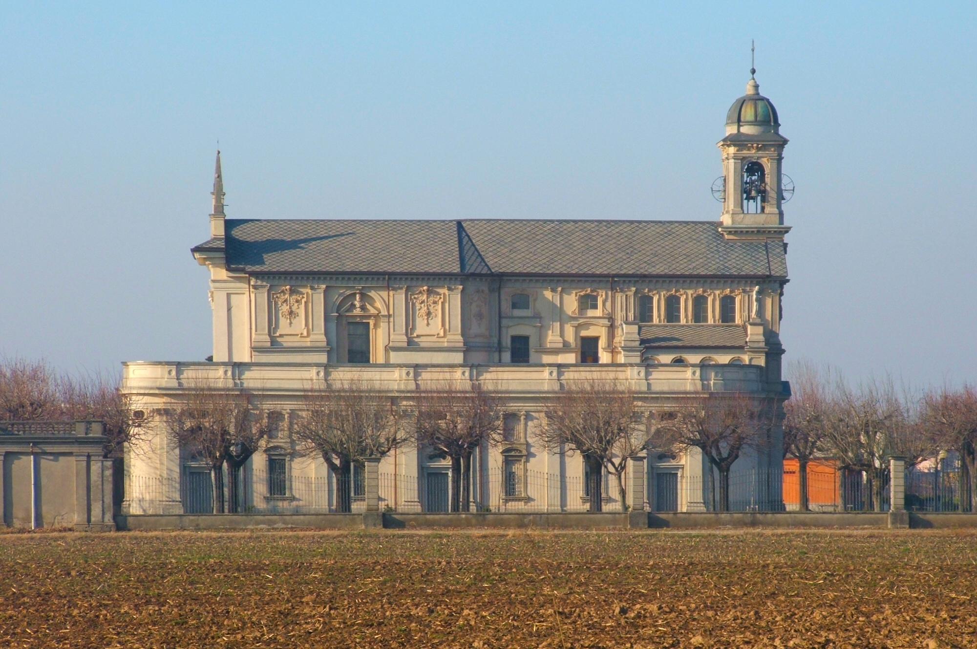 Stezzano Italy  City new picture : Description Stezzano fianco destro Madonna dei campi