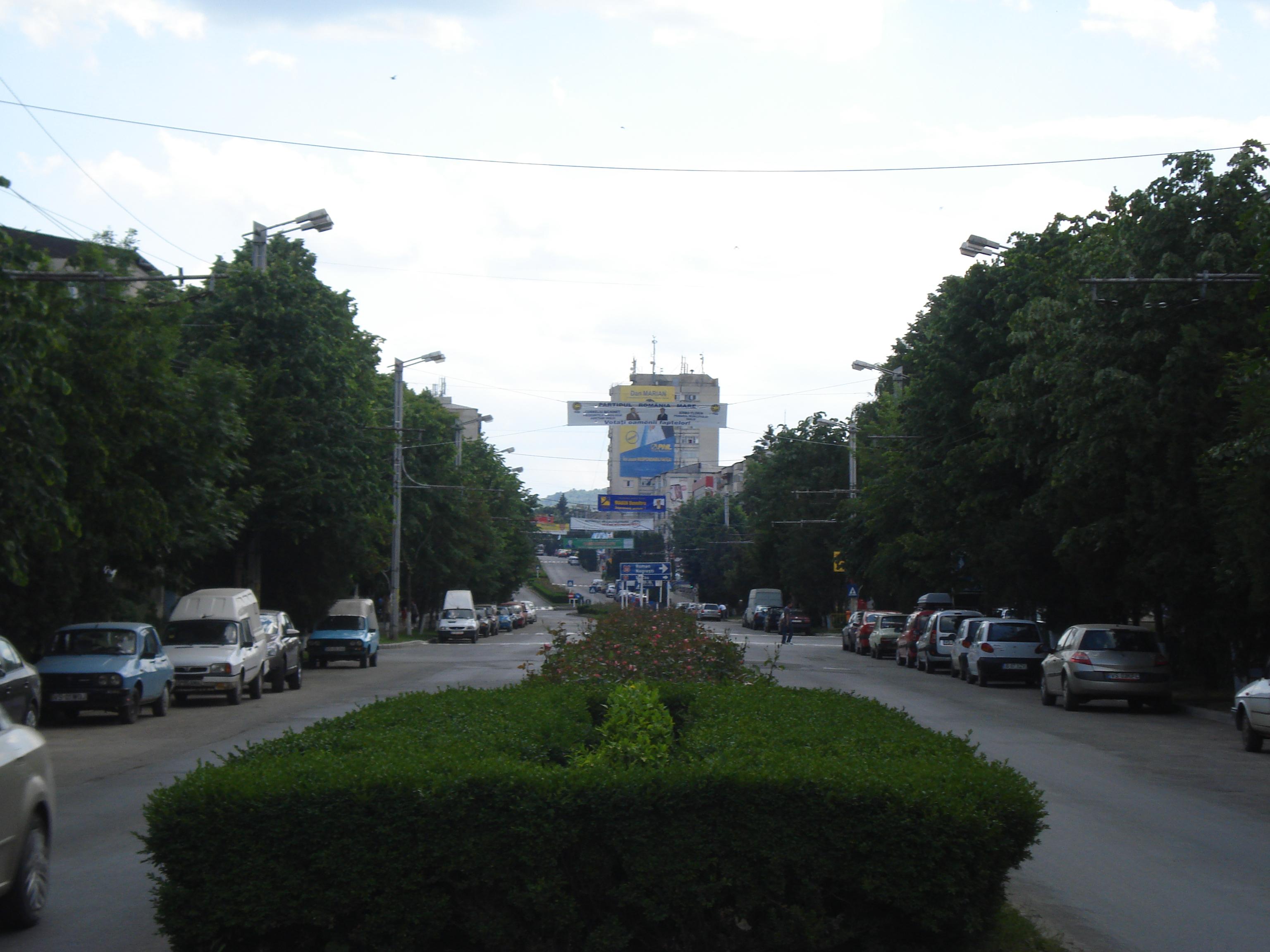 Fişier:Strada Ştefan cel Mare, Vaslui.JPG
