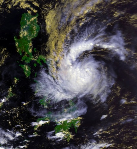 tropical storm thelma