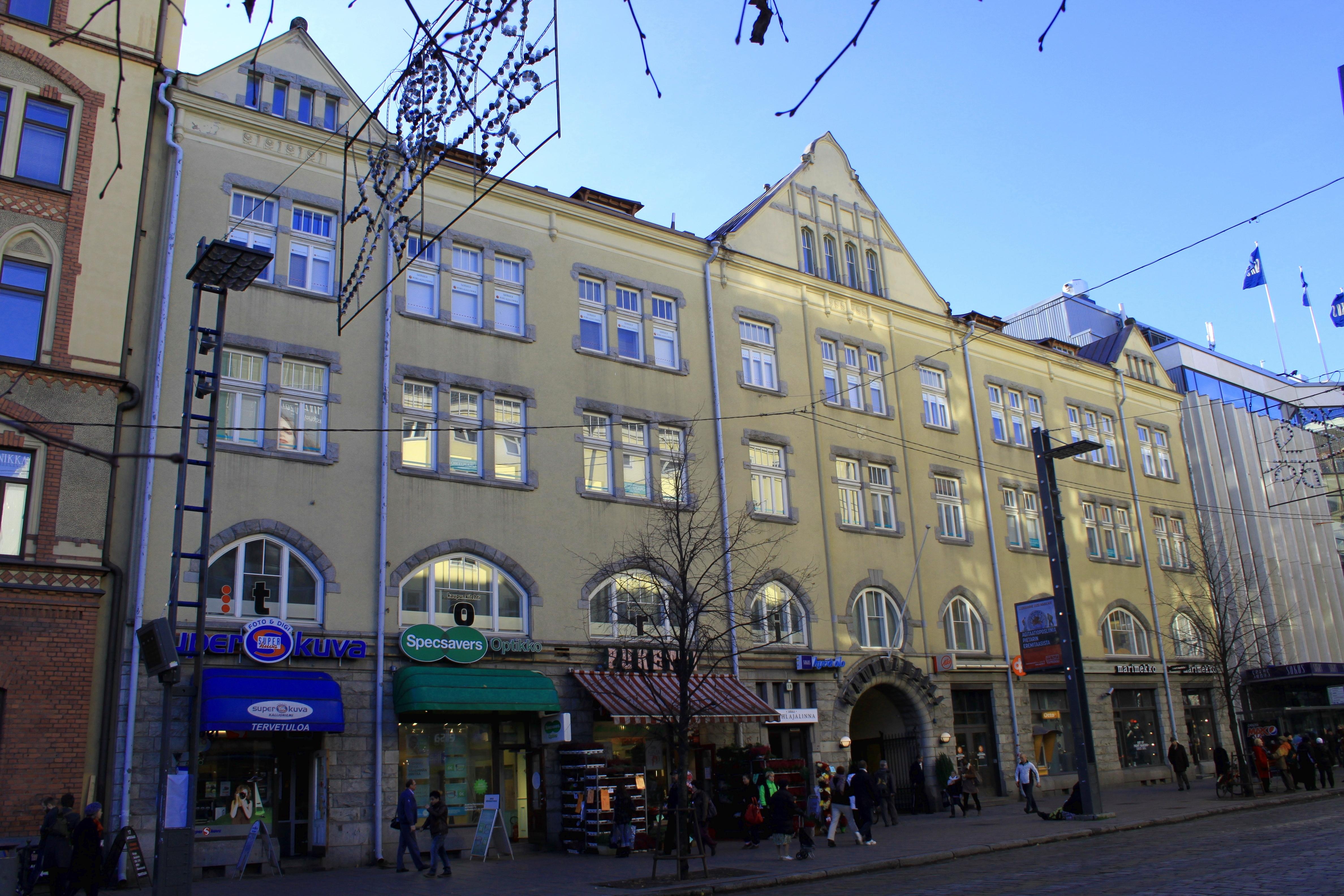 Tampereen kauppahallin virastotalon suojelukiista – Wikipedia eda2bf56cd