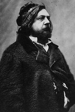 Théophile Gautier, foto door Félix Nadar