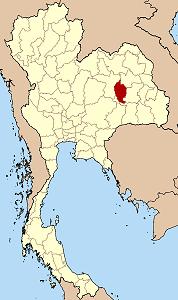マハーサーラカーム県の位置